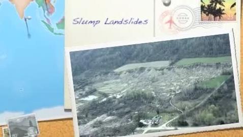 Thumbnail for entry slump landslides