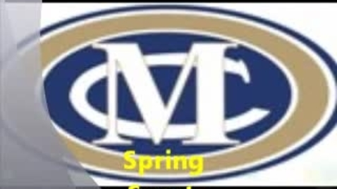 Thumbnail for entry Spring Sports at MCS