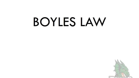 Thumbnail for entry Boyles Law