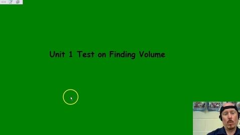 Thumbnail for entry Review for Volume Assessment