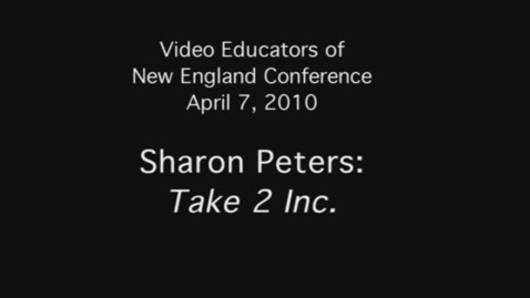 Thumbnail for entry Sharon Peters: Take 2 Inc.