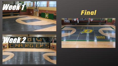 Thumbnail for entry H.H. Dow High  School's New Basketball Court