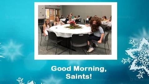 Thumbnail for entry Saints @ 8, January 31, 2018