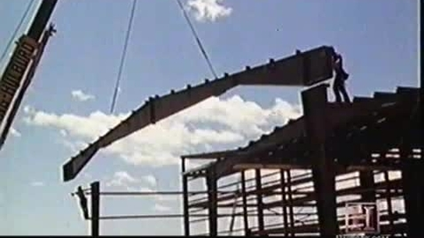 Thumbnail for entry Welding beams for buildings