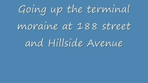 Thumbnail for entry Driving through a terminal moraine- Queens, New York.