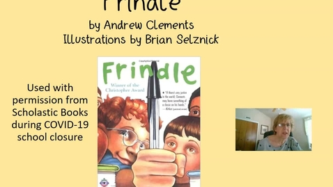 Thumbnail for entry Frindle Chapter 2