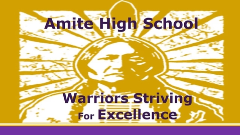 Thumbnail for entry Amite High Events March 16-20, 2015