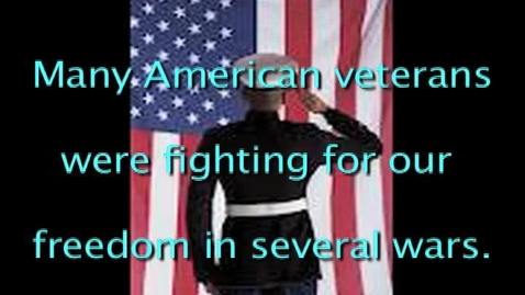 Thumbnail for entry Veterans day Project ~Arielle Treadwell