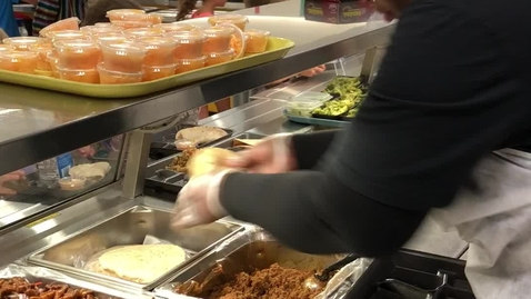 Thumbnail for entry How to serve Chicken Soft Tacos on serving line