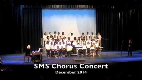 Thumbnail for entry SMS Chorus December 2014