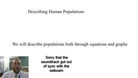 Thumbnail for entry Describing Human Populations