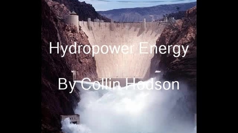 Thumbnail for entry Hydropower
