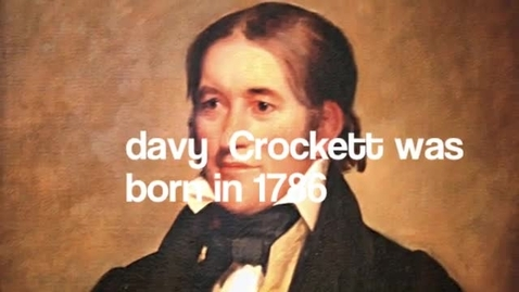 Thumbnail for entry David Crockett by cole