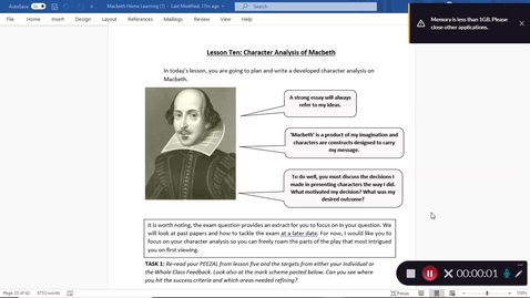Thumbnail for entry Macbeth  Lesson 10