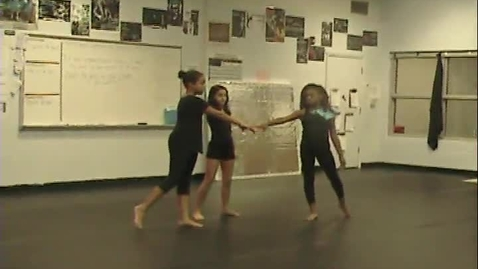 Thumbnail for entry 3rd period 6th grade AB Structure dances using Body 9-18-15 Group Y C R