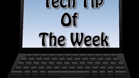 Thumbnail for entry Tech Tips 3- Protecting Your Laptop!