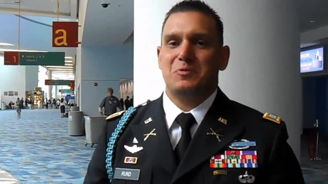 Thumbnail for entry 2013 DECA Convention: Meet the U.S. Army's CPT Tyler Rund