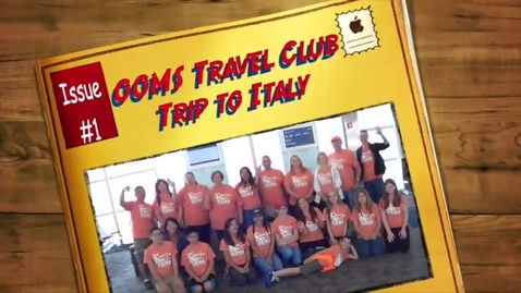 Thumbnail for entry Travel Club educational tour to Italy, 2015