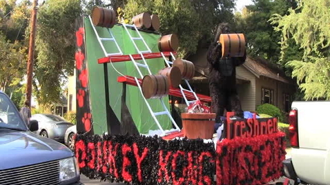Thumbnail for entry Homecoming Float Building Process