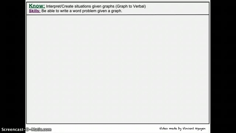 Thumbnail for entry From Graph to Verbal Situation