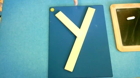 Thumbnail for entry Handwriting: Letter Y, Number 8