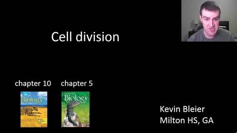 Thumbnail for entry Binary fission and mitosis