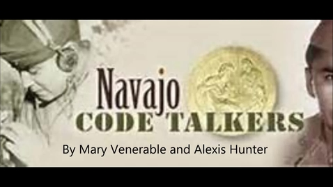 Thumbnail for entry World War II Code Talkers