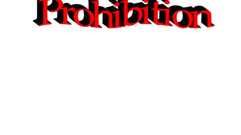 Thumbnail for entry Hist7 Ch 7- Lesson 3: Prohibition