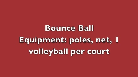 Thumbnail for entry Bounce Ball