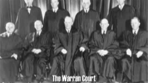 Thumbnail for entry The Warren Court in Ten Minutes