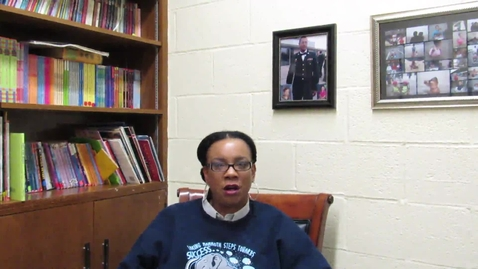Thumbnail for entry Mrs. Porter Discusses the Importance of Social-Emotional Learning at Winfield