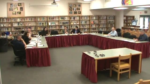 Thumbnail for entry Hackettstown Board of Education Meeting - May 18th, 2016