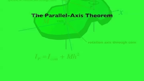 Thumbnail for entry parallel axis theorem derivation keynote movie