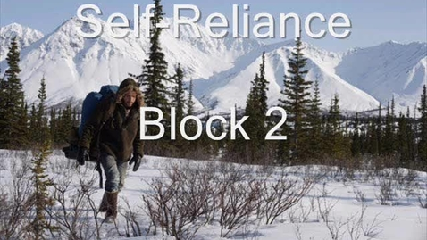 Thumbnail for entry ITW-SelfReliance2