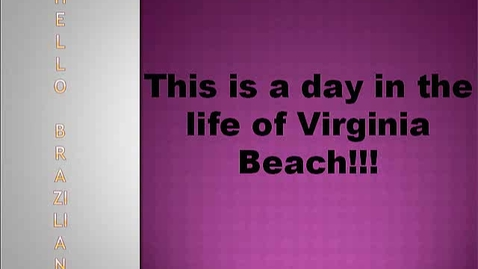 Thumbnail for entry Go Virginia Beach!
