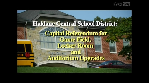 Thumbnail for entry Haldane Capital Project