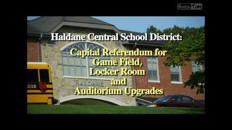 Thumbnail for entry Haldane Capital Project