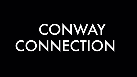 Thumbnail for entry Conway connection, 5/9/16, episode 36