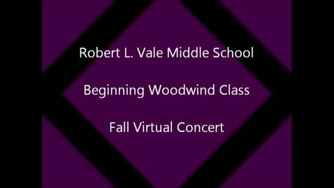 Thumbnail for entry 2012-2013 Beg. Woodwind Class Fall Concert