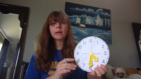 Thumbnail for entry Telling Time Lesson
