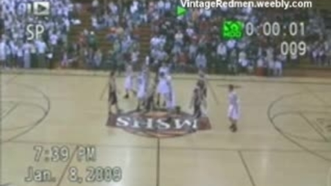 Thumbnail for entry 2009 MSHS Redmen Basketball vs. Menominee