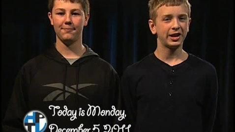 Thumbnail for entry Monday, December 5, 2011