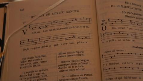 Thumbnail for entry Veni Creator Spiritus – Gregorian chant