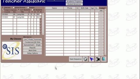 Thumbnail for entry Setting Up Gradebook Preps/Elementary/Middle