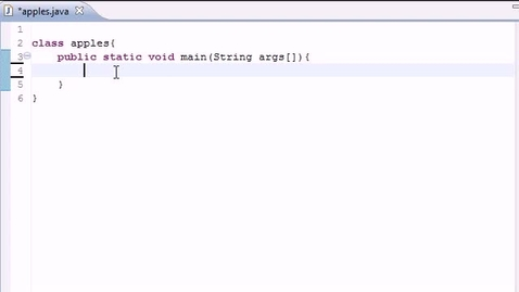 Thumbnail for entry Java Programming Tutorial - 12 - Switch Statement