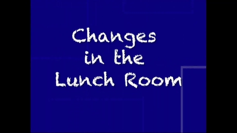 Thumbnail for entry Feature on Changes in Food Service