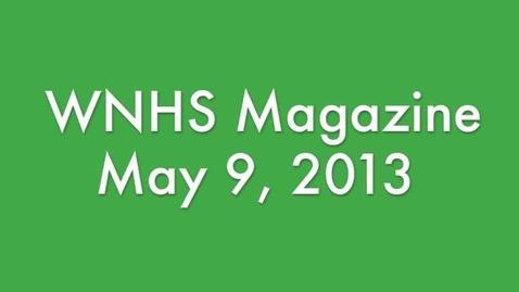 Thumbnail for entry WNHS-TV May 9, 2013