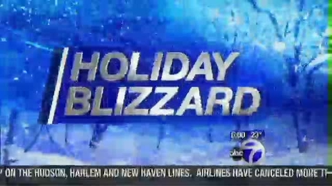Thumbnail for entry Eyewitness News Bill Goldberg 12-26-10 Holiday Blizzard Update