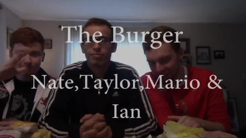 Thumbnail for entry The Burger - WSCN PTV 2015/2016