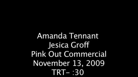 Thumbnail for entry PV Pink Out Commercial